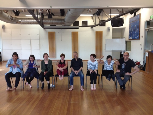 Clowning workshop for facilitators