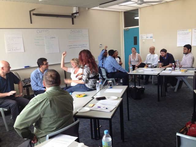 Engineering lecturers learn to collaborate for teaching excellence
